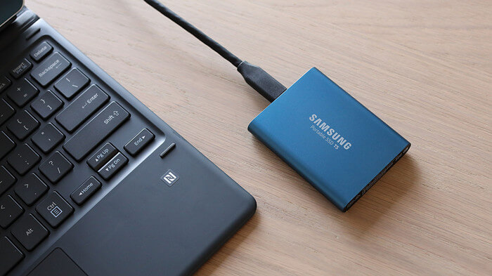 Samsung portable SSD data recovery