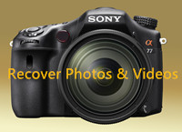 recover lost photos from Sony digital camera on Mac