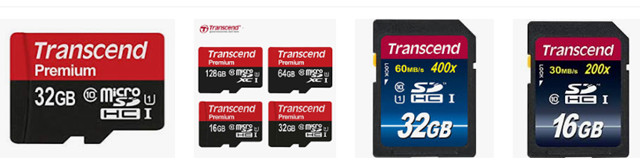 data recovery from Transcend memory card