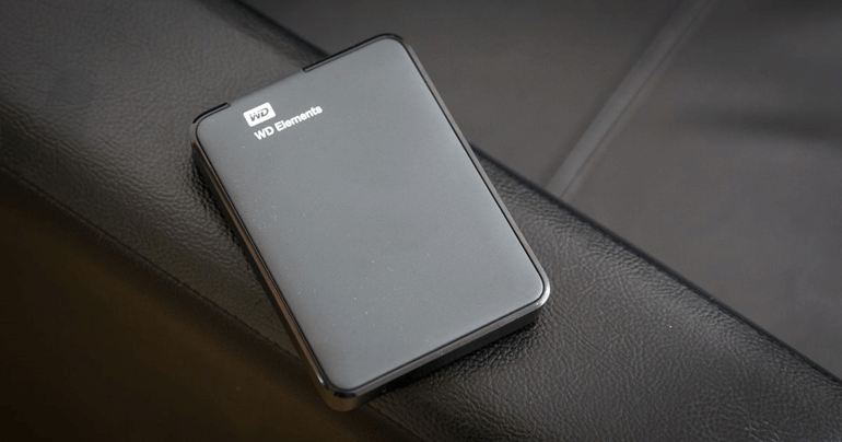how to reformat WD portable hard drive