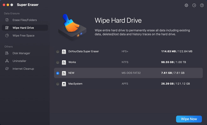 format SD/memory card under macOS Mojave